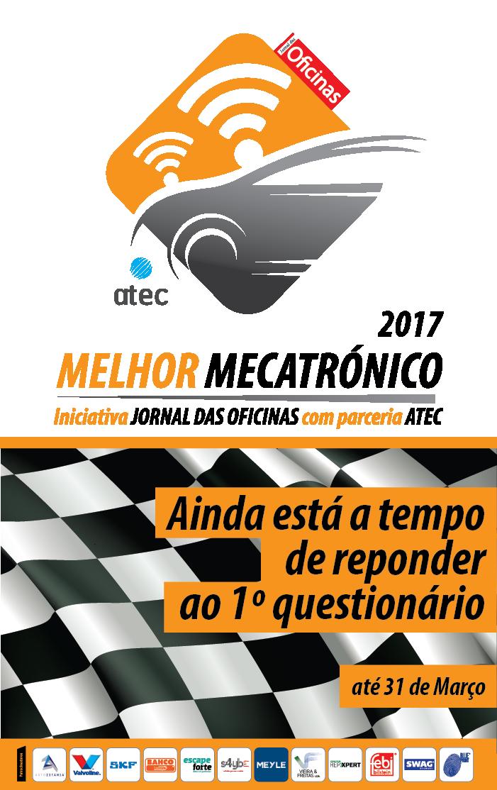 Melhor Mecatrónico 2017 1º QUESTIONÁRIO