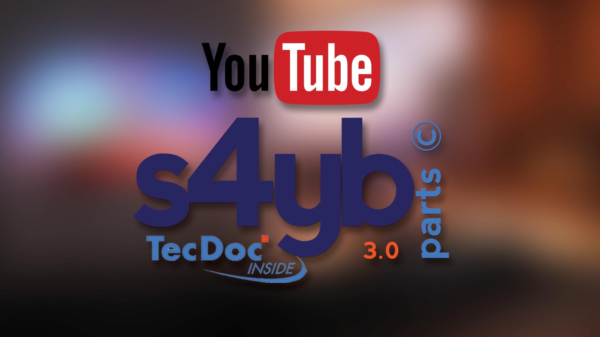 s4yb parts TecDoc Youtube