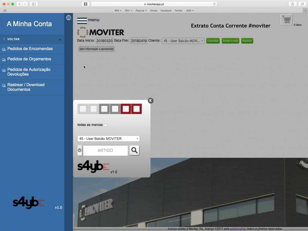 e-commerce B2B Moviter